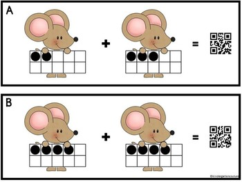Counting, Matching, Adding Little Mouse