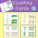 Counting/Matching Cards 1-10