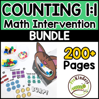 Counting Math Interventions | Pre-K