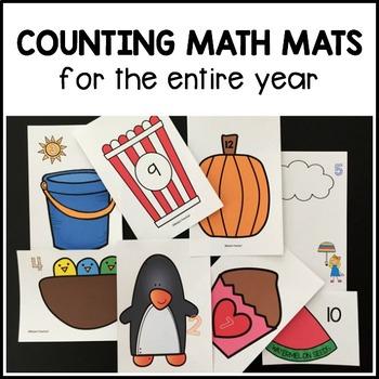 Counting Math Mats 1-12