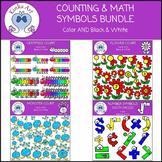 Counting / Math Symbols Clip Art Bundle