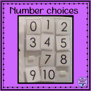 Counting Math Work Binders with Ten Frames for Autism and Special Education