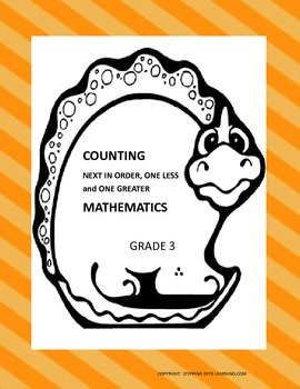 Counting Mathematics, Next in Order, One Less and One Greater