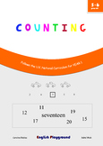 Counting - Maths workbook for 5 and 6 years old - Compatib