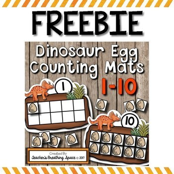 Counting Mats 1-10 For Every Month of the Year BUNDLE