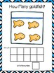 Counting Mats 1-10 -Goldfish and Emergent Reader Counting Booklet