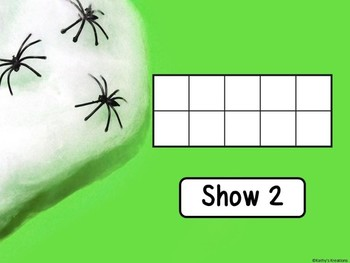 Counting Mats 1-20 Spiders