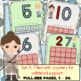 Counting Mats 1-30 (Filled and Blank)