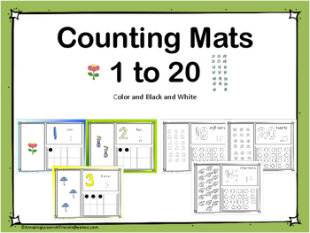 Counting Mats 1 to 20