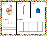 Counting Mats: Count, Write, and Build Numbers to 20!
