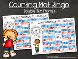 Counting Mats - Double Ten Frames (Bingo)