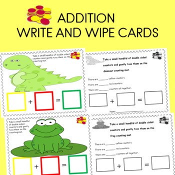 Addition laminate write and wipe cards