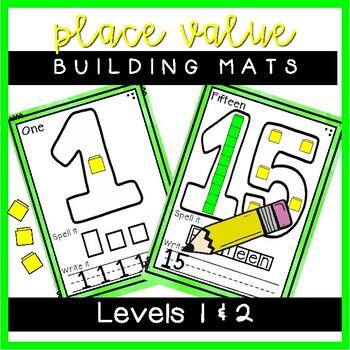 Place Value Building Mats Freebie