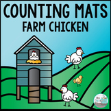Counting Mats - Farm Chicken