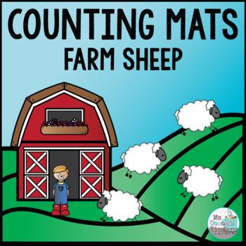 Counting Mats - Farm Sheep