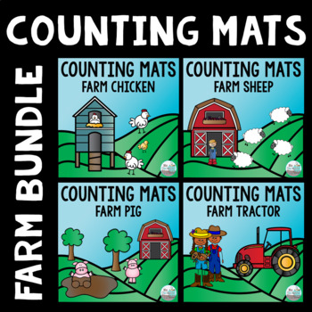 Counting Mats - Farm Themed Bundle