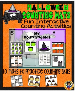 Counting Mats~Halloween {1-20}