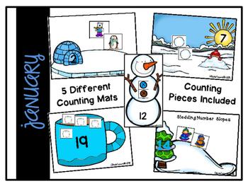 Counting Mats: January