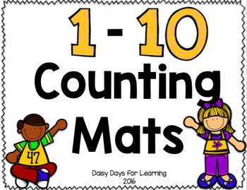 Counting Mats: Number 1-10