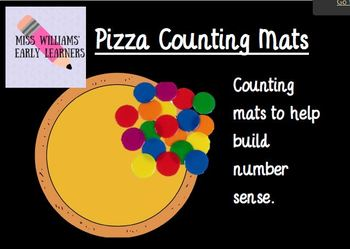Counting Mats- Pizza Counting!