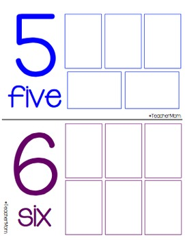 Counting Mats {#TeacherMom}