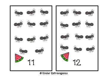 Counting Mats with Ants