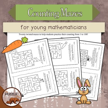 Counting Mazes for Young Mathematicians