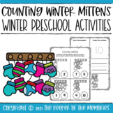 Mitten Printable Winter Preschool Activities with Counting