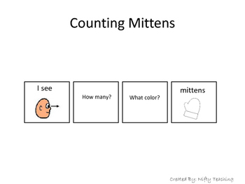 Counting Mittens and Identifying Colors