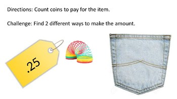 Counting Mixed Coins Powerpoint