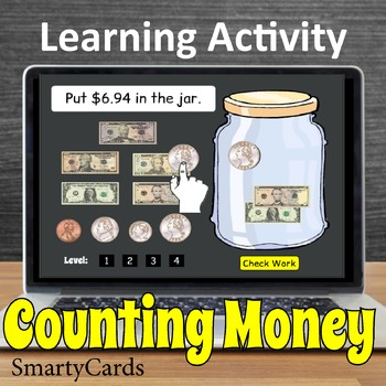 Smartboard Counting Money Game