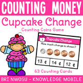 Counting Money - Counting Coins Game - Task Cards & Respon