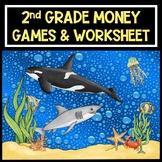 Counting Money - 2nd Grade Money Games - Money Worksheet