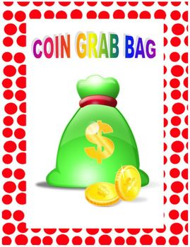 Coin Grab Bag - Counting Money Coins Activity