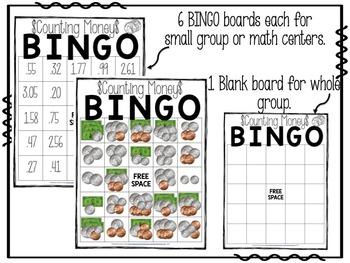 Counting Money BINGO