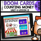 Counting Money BOOM CARDS |  Module 6 Lesson 21 | Distance
