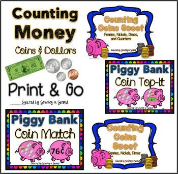 Counting Money {BUNDLE}