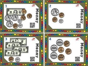 A Money BUNDLE-Bingo, Task Cards, & Worksheets w/ Riddles!