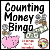 Money Bingo - Classroom Review Activity w/ 35 Bingo Cards!