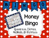 Counting Money Bingo Game
