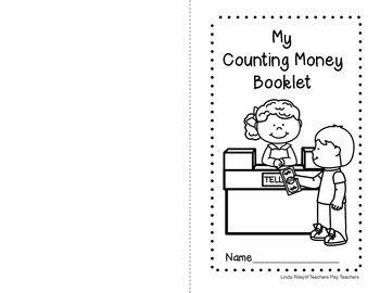 Counting Money Booklet: Math Project