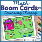 Counting Money Math Boom Cards™ Do I Have Enough? Candy Store