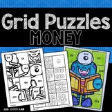 Counting Money | Coin Activities | Grid Puzzles