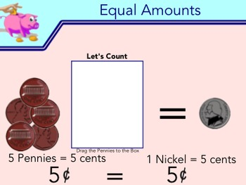 Counting Money: Coins