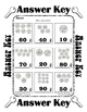 Counting Money Coins ~ Dimes ~ by 10 ~ One Work Sheet - Many Holidays & Seasons