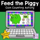 Counting Money   Coins Task Cards   Distance Learning