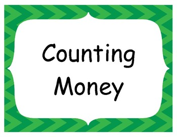 Counting Money, Collection of Coins, Money Spin