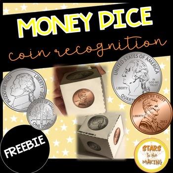 Counting Money Dice FREEBIE