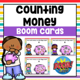 Counting Money Digital Boom Cards (Counting Coins) | Dista