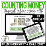 Counting Money Digital Interactive Activity